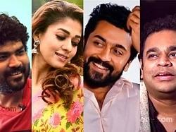 Vignesh Shivan breaks for the first time about AR Rahman's choice of actors Nayanthara and Suriya for this