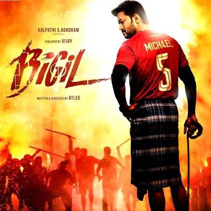 Vijay and Atlee's Bigil production cost is said to have crossed Rs. 140 crores