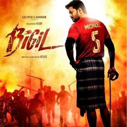 Vijay and Atlee's Bigil's overseas rights are bagged by United India Exporters and X Gen Studio