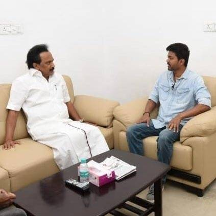 Vijay enquires about Kalaignar's health to Stalin