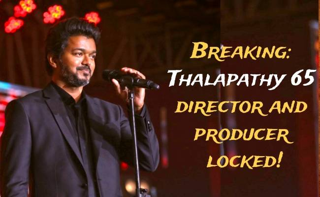 Vijay's Thalapathy 65 director and producer locked after Master Audio Launch