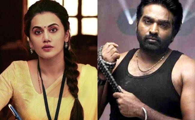 Vijay Sethupathi's next movie with Taapsee latest - Shoot and cast details