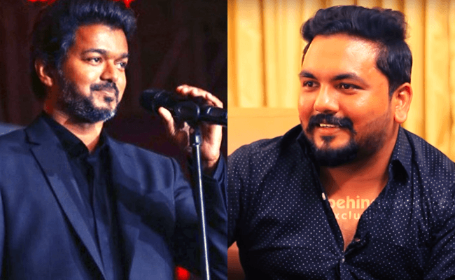 Vijay's Bigil and Master audio launch showrunner Tom Frank exclusive interview