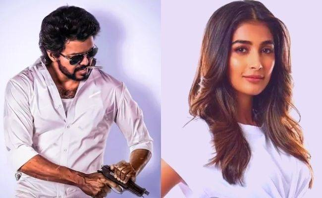 Vijay's mass BEAST Update is here with Pooja Hegde's LATEST VIRAL PIC