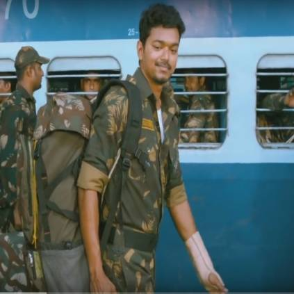 Vijay's phone call to an Indian Army Soldier Tamil Selvan