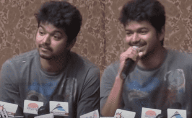 Vijay's throwback press meet for the movie 'Nanban'