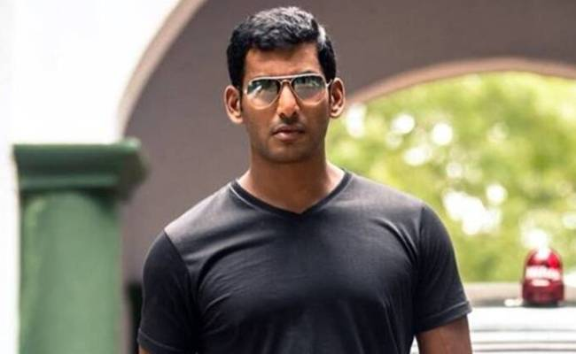 Vishal next announced powerful theme in place