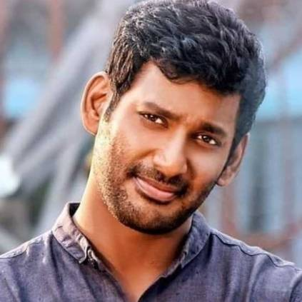 Vishal posts tweet with his father and about the construction of Nadigar Sangam building