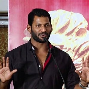 Vishal's statement to Abirami Ramanathan for discarding online booking charges