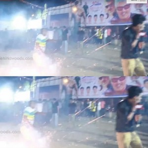 Vivegam's FDFS celebration at Rohini theatre, Chennai