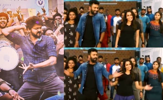 Watch Master actor Shanthnu and wife Kiki dance to Thalapathy Vijay's Vaathi Coming ft Anirudh