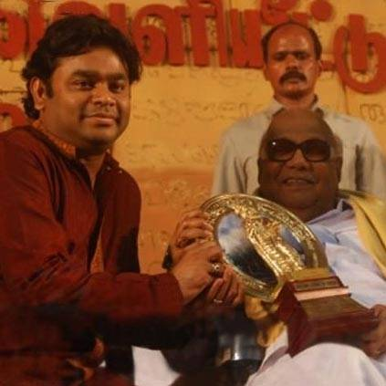 When AR Rahman composed a tune for Kalaignar Karunanidhi's lyrics