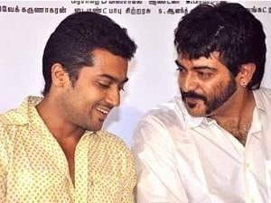"""I'm in cinema, because of Ajith"" - Suriya's open talk video"