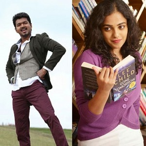 Why was Nithya Menen the chosen one for Vijay 61?