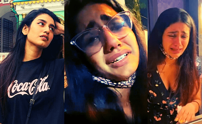 Wink girl Priya Prakash Varrier lashes out in her latest post; here's what happened
