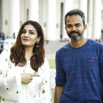 Yash's KGF 2 gets national award winning actress on board ft. Raveena Tandon, Prashanth Neel, Srinidhi Shetty