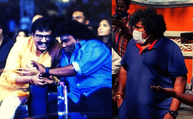 Yogi Babu turns emotional sharing unknown bond between him and Vivekh