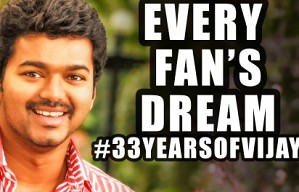 33 Years of Vijay Every Fan's Dream is here Tinsel Kathaigal