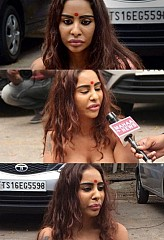 Sri Reddy's protest; strip the truth by baring the body