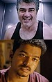 When heroes become villains, Ajith, Vijay