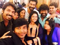 Actor Aari and Nadiya Wedding