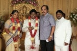 Actor Black Pandi Wedding Reception