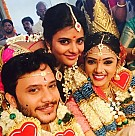 Aishwarya Rajesh's brother Manikanda Wedding