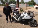 Ajith Kumar Bike Ride Trip from Pune to Chennai