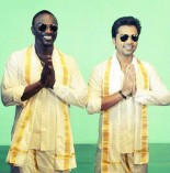 Akon in veshti with STR