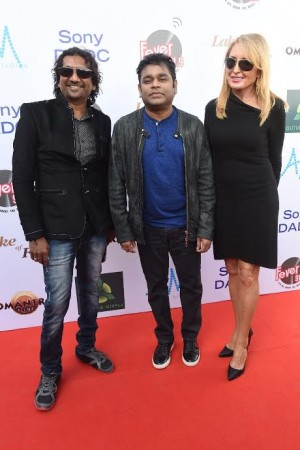 AR RAHMAN LAUNCHES 'LAKE OF FIRE' AUDIO - PHOTOS
