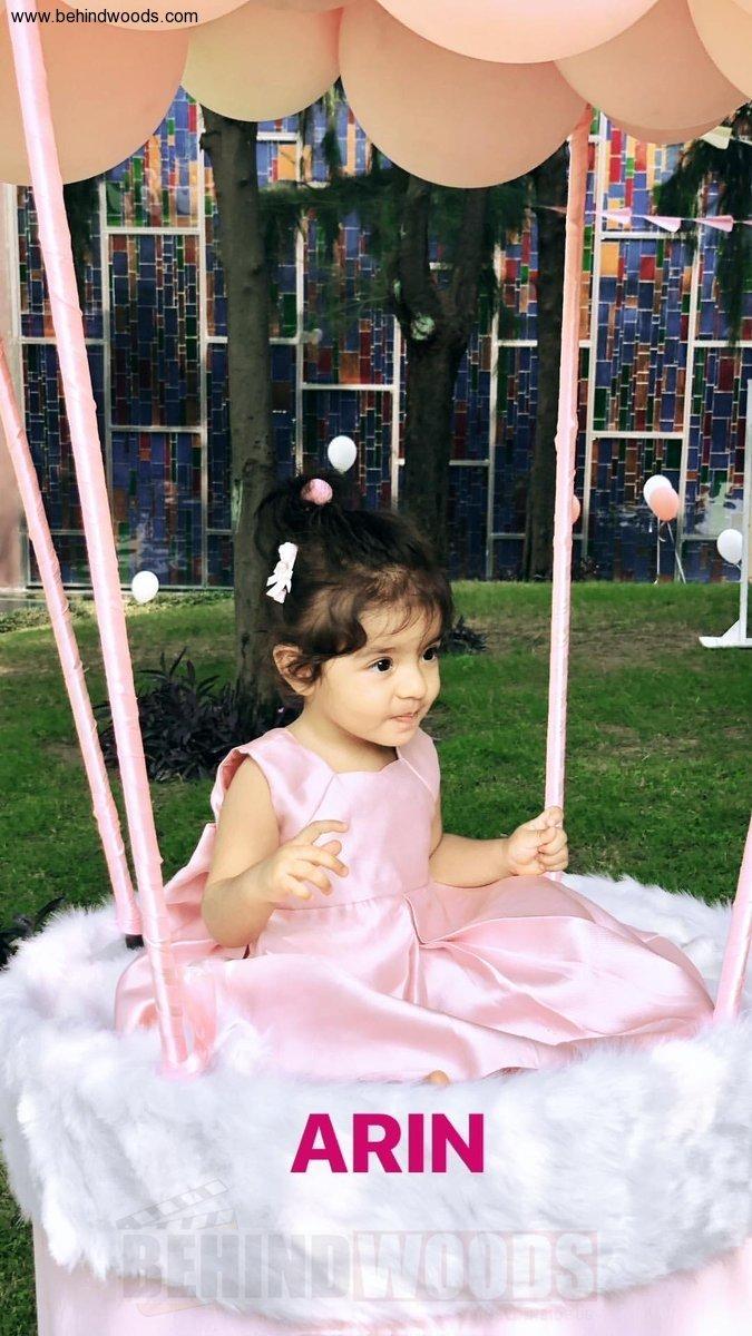 Asin Daughter Arin 1st Birthday