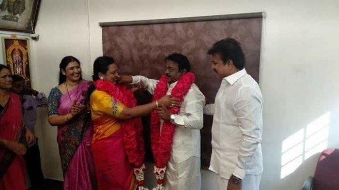 Captain Vijayakanth's 28th Wedding Anniversary Celebration