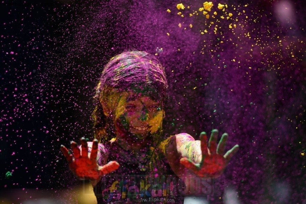 Chennai Holi Celebrations