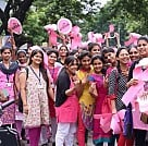 Chennai Turns Pink - Pink Ribbon Walk
