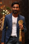 Dhanush receives BW Gold Medal from Bharathiraja