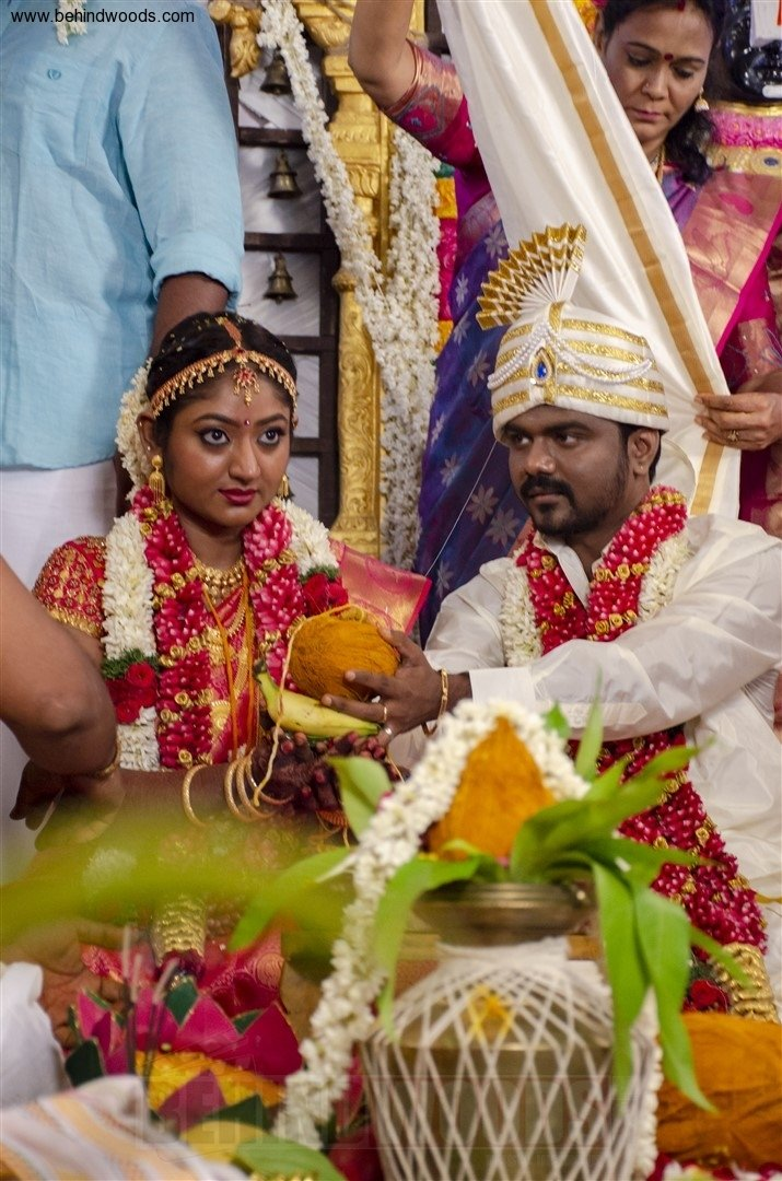 Director Rajkumar Periasamy and Jaswini Wedding