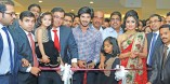 Dulquer and Shriya at Malabar Gold Abu Dhabi