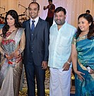 Lakshmy Ramakrishnan Daughter Wedding Reception
