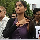 Protest against gang rape