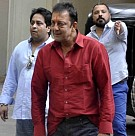 Sanjay Dutt goes home on parole