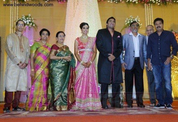 Sathya Jyothi Films TG Thyagarajan son Sendhil Wedding Reception