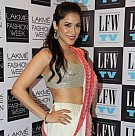 Stars at Lakme Fashion Week