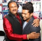Suriya at Mohan Babu Birthday Celebration