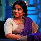 Vidya shoots for No More Kamzor episode