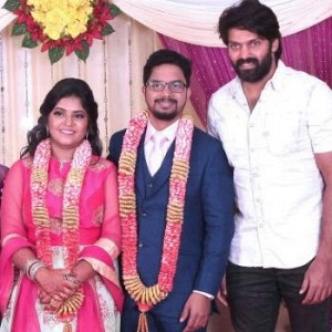 Wedding Photos of Akshya, Daughter of Cinematographer KS Sivaraman