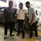 Yuvan Spotted at Chennai Airport