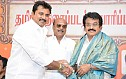 Sarath Kumar campaigns for KR and team