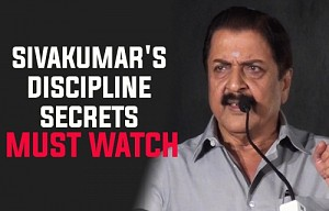 Sivakumar's discipline secrets | Must watch