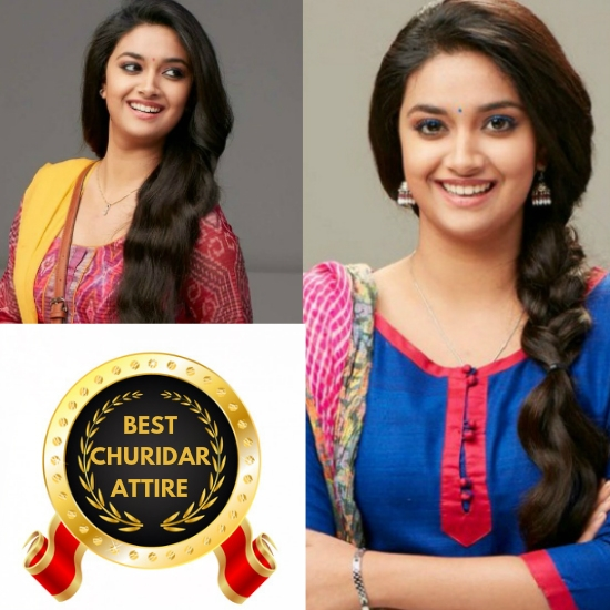 Keerthy Suresh- Best Churidar Attire