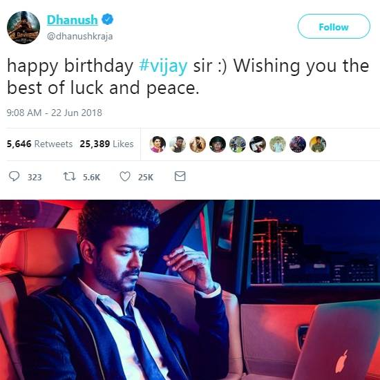 Celebrities Wishes For Thalapathy Vijay's Birthday